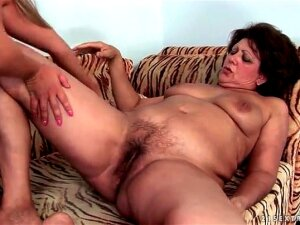 Braided Pigtails Teen Goes Down On Granny Porn