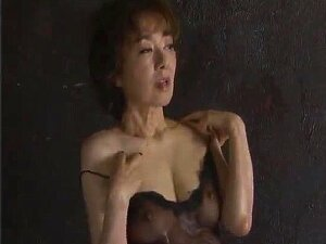 Asian Mature Chick Takes Off Her Transparent Lingerie, Revelaing Her Juicy Pussy, And Gives It Some Intense Toying, And After That Her Young  Partner Fucks Her Mouth And Cunt Hard Porn