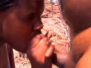 Black Amateur Bitches Sprayed With Cum And Tied Up To A Tree Porn
