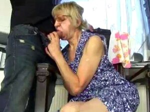 Hot Mom Gets A Young Cock In Her Old Hairy Pussy Porn