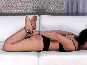 Slutty Fetish Maid Fucks In Shiny Latex Lingerie Porn