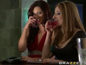 Lesbian Love In The Club Between Karlie Montana And Paris Kennedy Porn