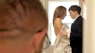 Pervy Parents Watch Bro Cum Inside His StepSis - My Family Pies S4:E3