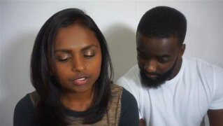 Blindian Couple - Billy (African-American Man) & Himali (East-Indian Girl)