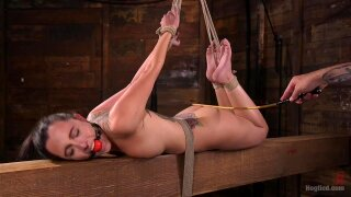 Roxanne Rae Loves to be Tormented in Bondage by The Pope