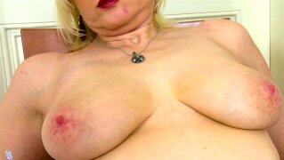 Old and horny mature granny solo shaved pussy