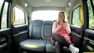 Fake Taxi Ginger cock monster deepthroats and anal