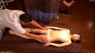Some girls relax massage