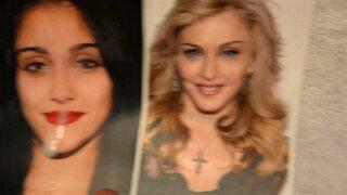 Cum Tribute: Madonna Louise Ciccone and Lourdes Leon