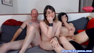 You are very welcome to join this hot orgy party.