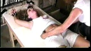 Girl tickled upper body by Renee