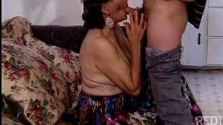 Hot granny anal fucking and sucking