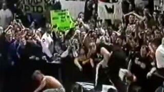 Stephanie Mcmahon's Tits Fall Out On Raw
