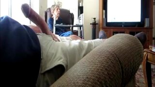 Flash dick at wife's mother