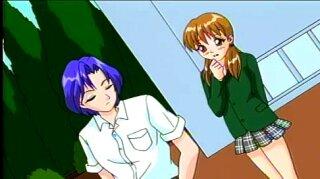 Anime sex in sports school