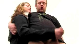 Plumber jerking Off by Milf