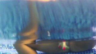 Tanned Brazilian chick rides hard rod