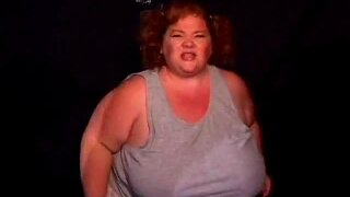 Big Plump Woman Wrestles A Midget Lesbo Action In The Ring