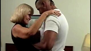 Big Black Cocks Is Just On The Mind Of This Horny Blonde Milf
