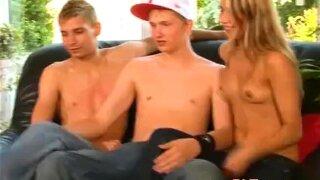 Monica Sweat In Bi Teen Threesome