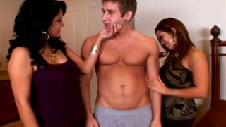 Wonderful Sienna West And Her Hot GF Go Hardcore In A Threesome