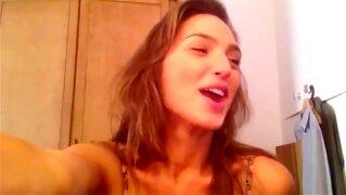 Gal Gadot (Wonder Woman) Dancing in Lingerie