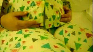 Stuffed BBW on bed