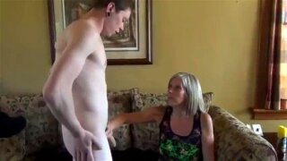 STEPMOM SEDUCE SON