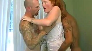 """""""Two brutal cocks for sweet redhead amateur"""""""